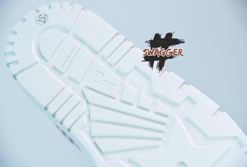 Giày Dior ID Snekaer Red Like Authentic sử dụng chất liệu chính hãng, sản xuất hoàn toàn bằng thủ công. chất lượng tốt nhất