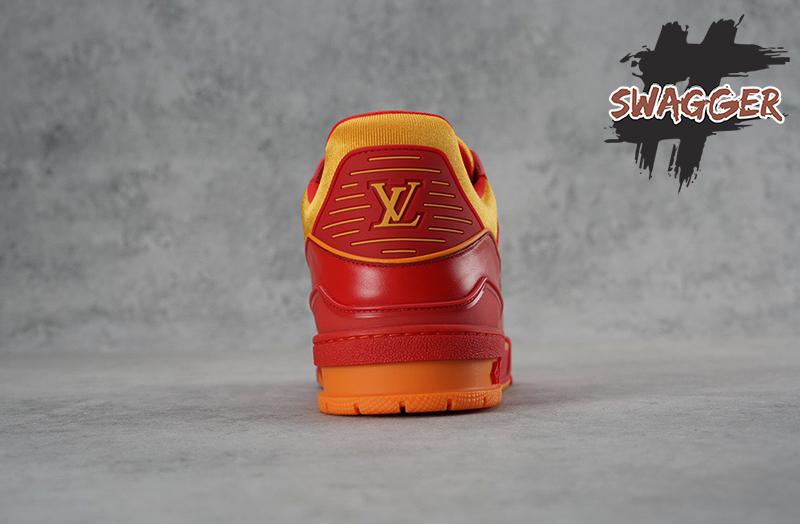 Giày Louis Vuitton Trainer Bordeaux Red Like Authentic sử dụng chất liệu chính hãng, chất lượng tốt nhất, chuẩn 99% so với chính hãng, liên hệ 09 0233 0236