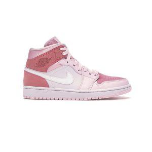 Giày Nike Air Jordan 1 Mid Digital Pink - CW5379-600