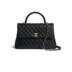 Túi Xách Chanel Coco Handle black Like Authentic