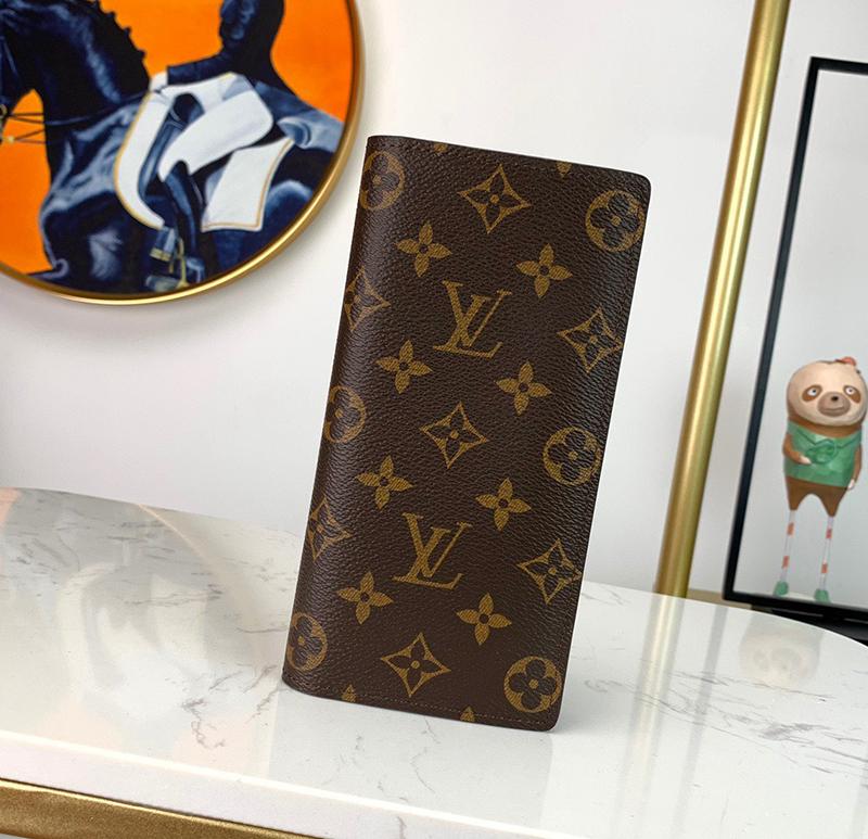 Ví Louis Vuitton Brazza Wallet Monogram Like Authentic sử dựng chất liệu chính hãng, sản xuất hoàn toàn bằng thủ công, full box và phụ kiện chất lượng tốt nhất