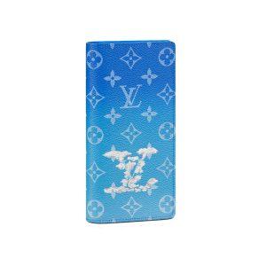 Ví Louis Vuitton Brazza Wallet Monogram Clouds Like Authentic
