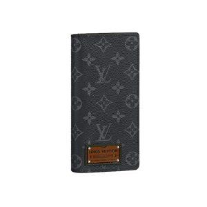 Ví Louis Vuitton Brazza Wallet Monogram Eclipse Like Authentic