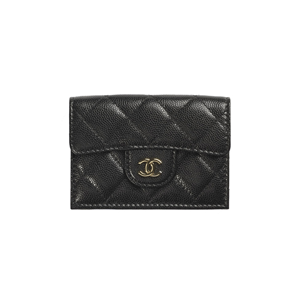 Ví Chanel Clasic Small Flap Wallet Black Like Authentic