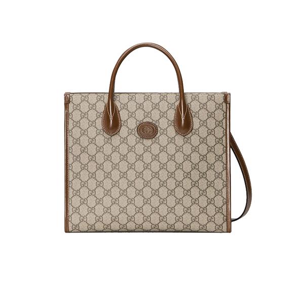 Túi Xách Gucci Small Tote Bag Canvas GG Supreme 659983 Like Authentic