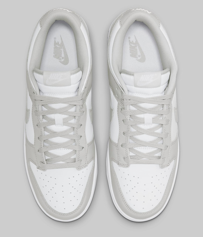 Giày Nike Dunk Low Grey Fog Pk God Factory sử dụng chất liệu chính hãng, sản xuất hoàn toàn bằng thủ công, cam kết chất lượng tốt nhất chuẩn 99% so với chính hãng