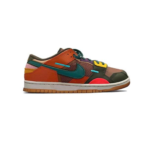 Giày Nike Dunk Low Scrap Archeo Brown PK God Factory