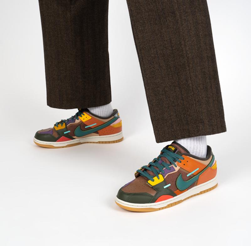 Giày Nike Dunk Low Scrap PK God Factory sử dụng chất liệu chính hãng, chuẩn 99% cam kết chất lượng tốt nhất, liên hệ 09 0233 0236 để được tư vấn 24/7, nhận ship toàn quốc